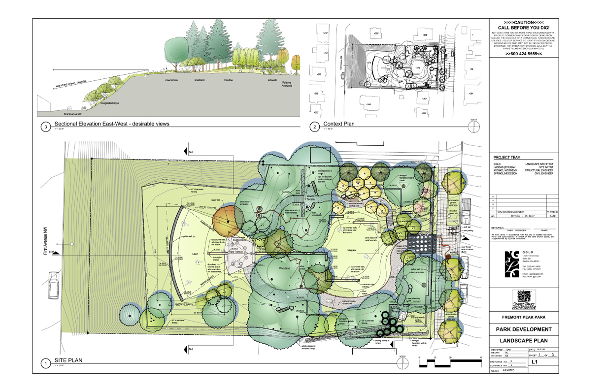 Fremont peak park design for Landscape layout plan